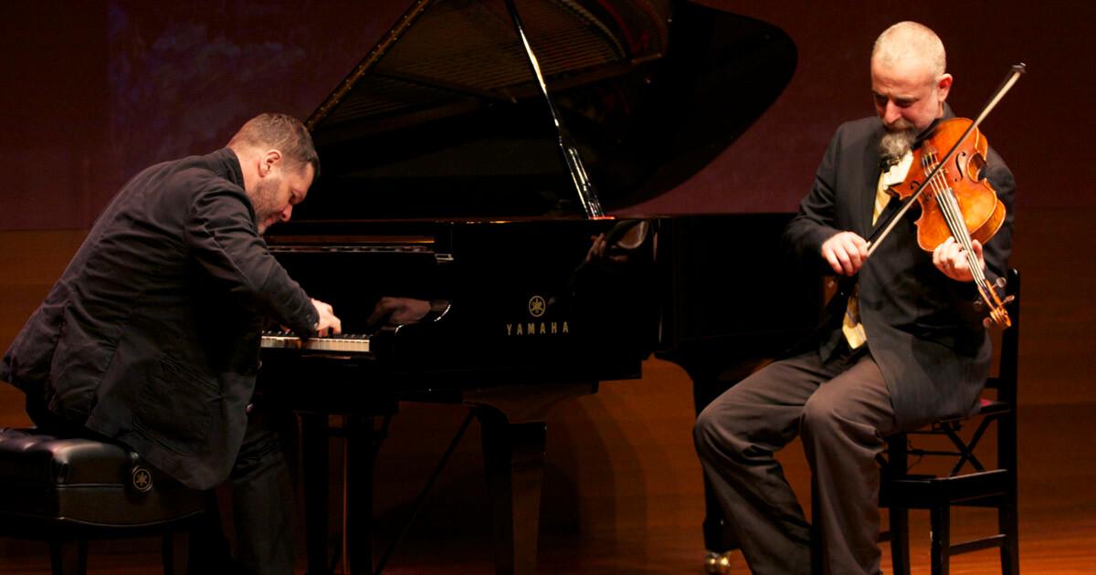 Lucian Ban Amp Mat Maneri Transylvanian Concert De Singer